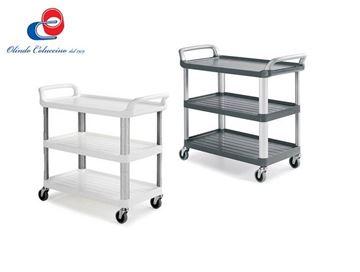 Immagine di Silver 1310 - 3 Ripiani - Montanti in plastica
