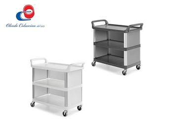 Immagine di Silver 1301 - 3 Ripiani - Montanti in alluminio
